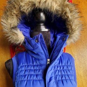 Cool Blue Puffer Vest
